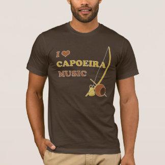 Camiseta Mim t-shirt da música de Capoeira do coração