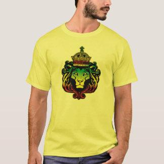 Camiseta Mim t-shirt do leão de Rasta da phi da libra por