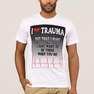 Camiseta Mim traumatismo do coração