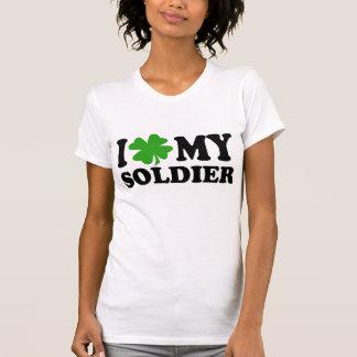 Camiseta Mim (trevo) meu soldado