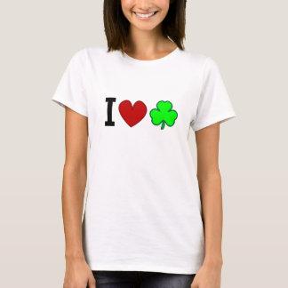 Camiseta Mim trevos do coração!