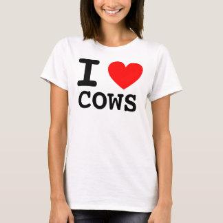 Camiseta Mim vacas do coração