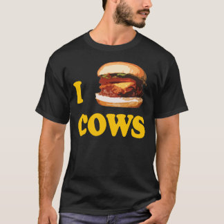 Camiseta Mim vacas do hamburguer