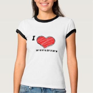 Camiseta Mim vale da grama do coração