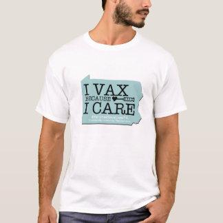 Camiseta Mim Vax porque eu me importo