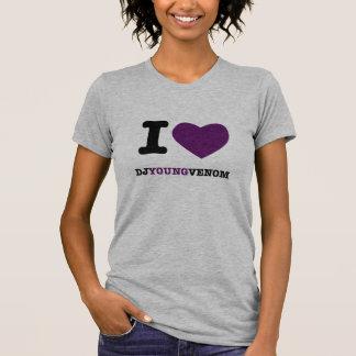 Camiseta Mim veneno dos jovens do DJ do coração