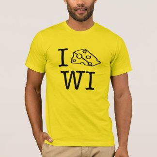 Camiseta Mim WI do coração