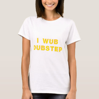 Camiseta Mim Wub Dubstep (stiches)