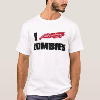 Camiseta mim zombis da espingarda