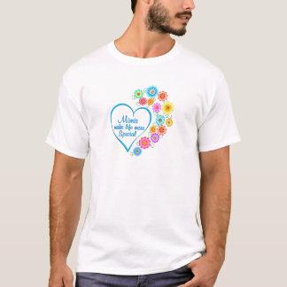 Camiseta Mimi coração especial