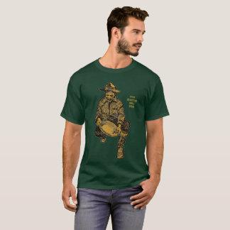 Camiseta Mineiro 1898 da febre do ouro de Alaska Klondike