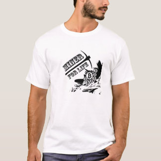 Camiseta Mineiro de Bitcoin para a vida