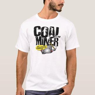 Camiseta MINEIRO de CARVÃO, é uma tradição da família