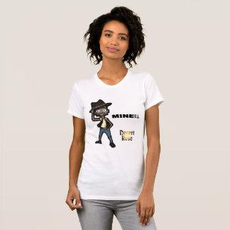 Camiseta MINEIRO - t-shirt do estilo dos desenhos animados