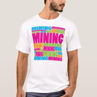 Camiseta Mineração colorida