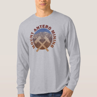 Camiseta Mineração de Antero da montagem