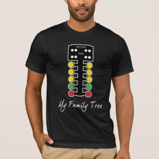 Camiseta Minha árvore genealógica - competência do arrasto