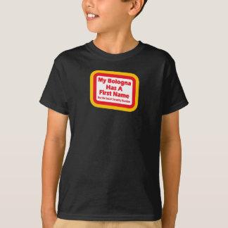 Camiseta Minha Bolonha tem um nome