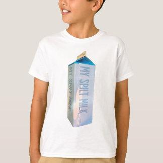Camiseta Minha caixa derramada do leite