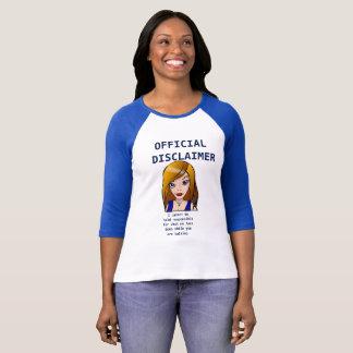 Camiseta Minha cara você que fala -- Estilo das senhoras do