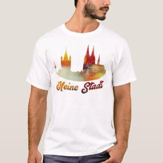Camiseta Minha cidade colônia t ` Shirt