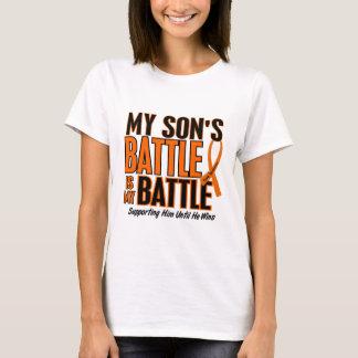 Camiseta Minha da batalha leucemia do filho demasiado