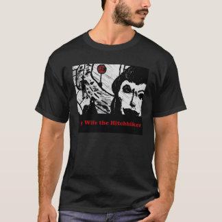 Camiseta Minha esposa o Hitchhiker
