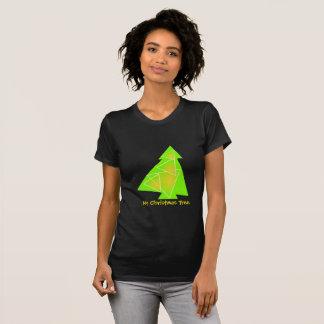 Camiseta Minha ilustração da árvore de Natal de uma árvore
