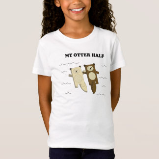 Camiseta Minha lontra meia