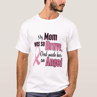 Camiseta Minha mamã é um cancro da mama do anjo