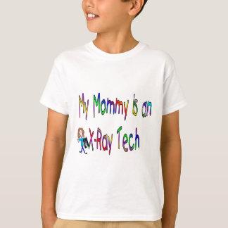 Camiseta Minha mamãe é uma tecnologia do raio X