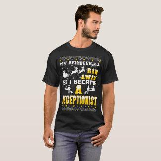 Camiseta Minha rena funcionou-me afastado transformou-se