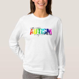 Camiseta Minha sobrinha meu herói - autismo
