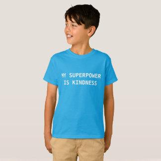 Camiseta Minha superpotência é bondade