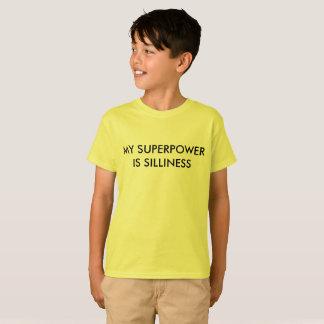 Camiseta Minha superpotência é disparate