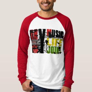 Camiseta Minha vida pela música de Syprez