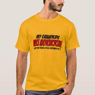 Camiseta Minhas motocicletas da raça dos netos…
