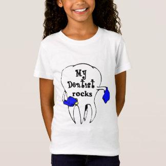 Camiseta minhas rochas do dentista