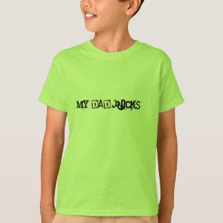 Camiseta Minhas rochas do pai!!!