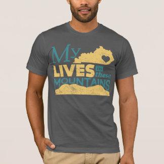 Camiseta Minhas vidas do coração nestas montanhas
