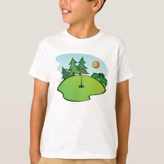 Camiseta Mini clipart do golfe