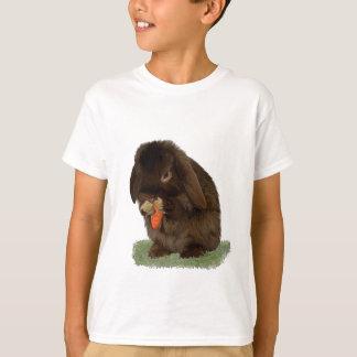 Camiseta Mini coelho e cenoura do Lop