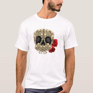Camiseta Mini crânio do açúcar dos esqueletos