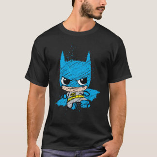 Camiseta Mini esboço de Batman