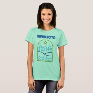 """Camiseta Minnesota apenas as linhas """"finas"""""""