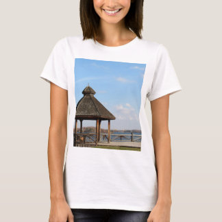 Camiseta Miradouro sobre o lago