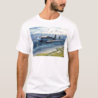 Camiseta Missão sobre Normandy por William S. Phillips