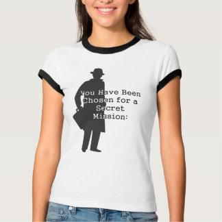 Camiseta Missões de espião secretas super…