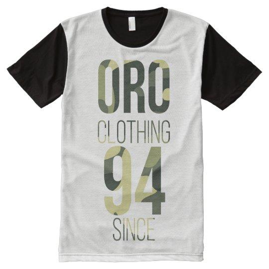 Camiseta Mista Camuflada ORO Clothing