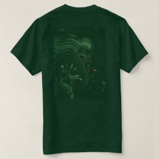 Camiseta Mistérios do t-shirt da natureza, Forest Green